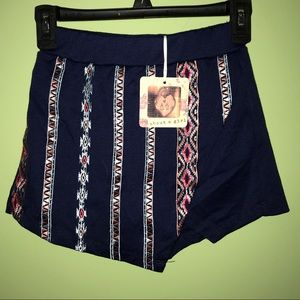 About a Girl Embroidered Skort